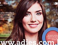 ADIES - Campanha de divulgação do site
