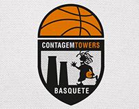 Design Logotipo - Basquetebol Contagem