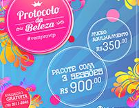 Campanha Protocolo da Beleza - Viplaser