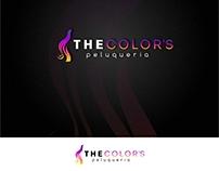 Diseño Logotipo peluqueria The Color's - Colombia