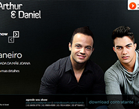 Web site - João Arthur e Daniel