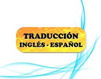 Traducción Inglés-Español