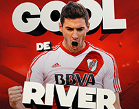 River Plate - Goles Social Media