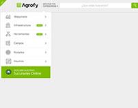 Menu Agrofy