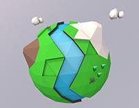 World paper 3D