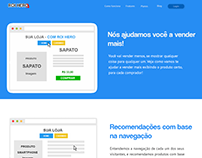 Features page - Ferramenta para e-commerce