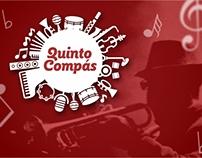 Quinto Compás // Branding