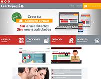 Rediseño web - LearExpress Venezuela.