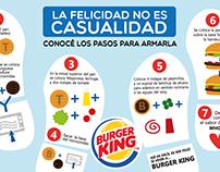 Piezas gráficas Burger King