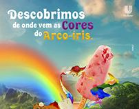 Fruttare: Descobrimos de onde vem as cores do arco-íris