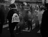 Fotos tomadas en la marcha No al 2x1 - Mayo 2017