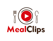 Imagotipo MealClips (refresh)