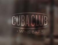 Diseño y desarrollo de identidad - Cuba Club Wine Bar