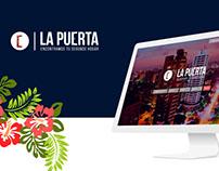 Home page y Branding La puerta.