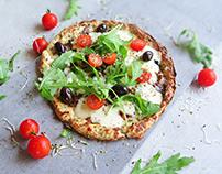 Cauliflower pizza for KetoConduct