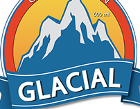Logo/Embalagem 'Cerveja Glacial'