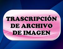 Transcripción de Archivo de Imagen