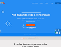 Landing Page para ferramenta de E-Commerce