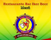 Menú Restaurant Iker Beer