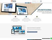 Site institucional Responsivo - Captura de contatos