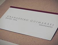Granadeiro Guimarães Institucional site Redesign