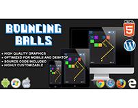 HTML5 Game: Bouncing Balls