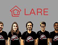 Produção artistica Startup LARE
