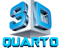 Quarto em 3D