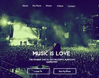 Martin Garrix Fan Made Web Site