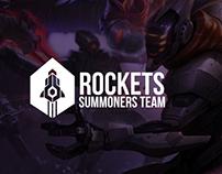 Branding: Rockets Summoners Team (LoL)