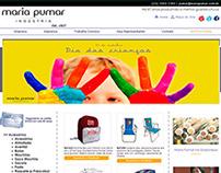 Banner Dia das crianças - Maria Pumar Indústria