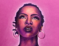 Ilustração - Lauryn Hill