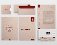 Corporate stationery designed by Jiuch Vols