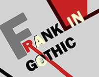 Desplegable Tipográfico Franklin Gothic