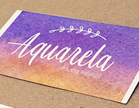 Aquarela! (Graphic Design)