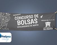 Banner para Fabook promoção de Bolsa