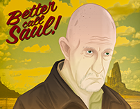 Mike - Better call Saul (Poster)