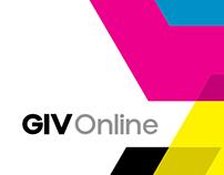 GIV Online - Redesign