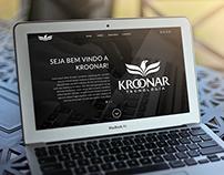 Layout Website p/ Kroonar Tecnologia