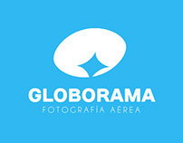 Globorama. Logo design for aerial photography company