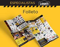 Especialistas- Lowes