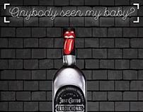 Key visuals promo Jose Cuervo + Rolling Stones