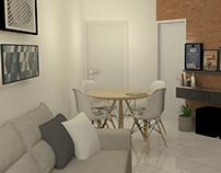 Interiores | Projeto Sala de Estar Daniel Rebello