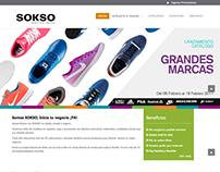 Diseño Página Web - SOKSO CATÁLOGOS