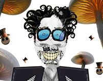 Tim Burton's portait