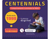 Centennials - Comportamientos y actitudes en RRSS