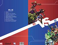 "Rediseño de enciclopedia - ""Marvel vs DC"""