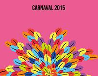 Diseño de afiches Carnaval 2015