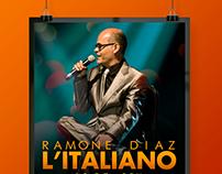 """Concert Poster """"L'italiano"""""""