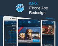 IMAX iPhone App Redesign